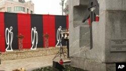 Памятник, посвященный Голодомору