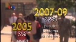 Jumlah Pasutri Hasil Kencan Online Meningkat - Liputan Berita VOA