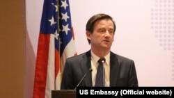 Duta Besar Amerika untuk Pakistan David Hale (Foto: dok).