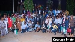 Les participants à la troisième édition du Forum Africain pour la Résilience 2