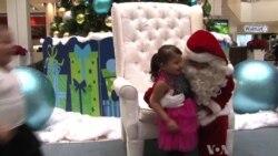 Diverse Santas a Big Hit in LA