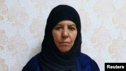 អ្នកស្រី Rasmiya Awad ដែលត្រូវបានគេជឿថា ជាបងស្រីរបស់មេដឹកនាំរដ្ឋឥស្លាមលោក Abu Bakr al-Baghdadi។