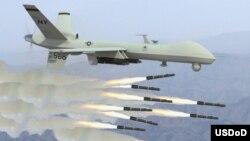 مقامات امریکایی گفته اند که در ماۀ اپریل امسال، ۴٦٠ حمله هوایی و راکتی، بالای شورشیان در افغانستان انجام یافته است