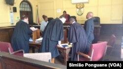 Tribunal de Barberton, Afrique du Sud, 25 mai 2016.