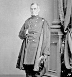 联邦部队指挥官安德森少校