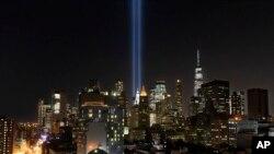 مین ہیٹن: واقعے کے 18 سال مکمل ہونے پر ایک رات قبل خراج تحسین پیش کیا گیا