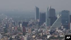 墨西哥政府於今年3月11日11年以來首次發布首都墨西哥城空氣污染超警告。