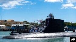 ARHIVA - Podmornica USS Ilinois vraća se u bazu Perl Harbur-Hikam, 13. septembra 2021.