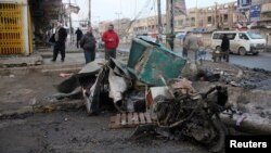 Nasilje u Iraku u porastu. Bombaški napad u Bagdadu, 14. januar 2014.
