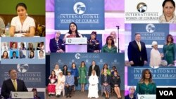 2019 Women of Courage award