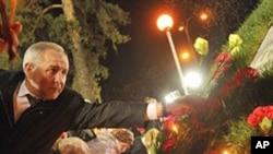 乌克兰人4月26日悼念切尔诺贝利核爆炸受害者