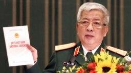 Thứ trưởng Quốc phòng Việt Nam Nguyễn Chí Vịnh công bố Sách Trắng Quốc phòng hôm 25/11/2019.