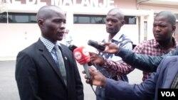 Novo secretario provincial da UNITA em Malanje, Mardanês Calunga