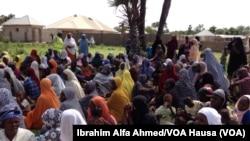 Wasu 'Yan Gudun Hijira a Borno