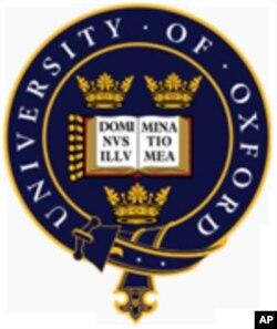 ເຄື່ອງໝາຍມະຫາວິທະຍາໄລ Oxford ຂອງອັງກິດ