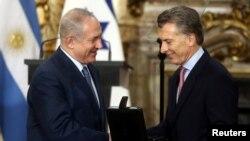 آقای نتانیاهو در سفری به آرژانتین این نظر را اعلام کرد.