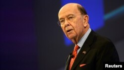 U.S. Commerce Secretary Wilbur Ross speaks at the Confederation of British Industry's annual conference in London, Britain, Nov. 6, 2017.