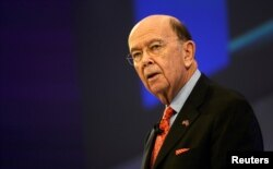 FILE - U.S. Commerce Secretary Wilbur Ross