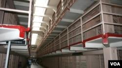 Alcatraz prison housed 300 cells.