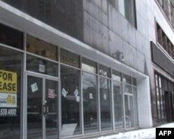 底特律废弃的店面