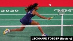P.V. Sindhu of India, Tokyo 2020 Olympics - Badminton - Women's Singles