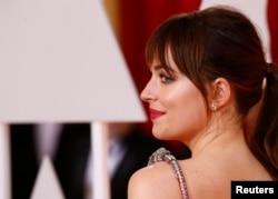 "Dakota Johnson, co-protagonista de ""Fifty Shades Freed""."