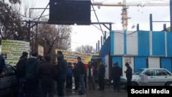کارگران پروژه آیسان تبریز به هفت ماه حقوق معوقه خود معترض هستند.