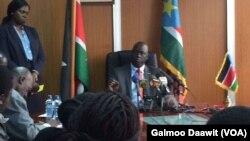 Ambaasaaddera Sudaan kibbaa Chool Ojoongoo