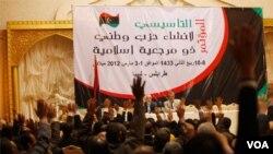 Para pendiri partai Al-Adalaa Wa Al-Beena memilih pemimpin mereke di Tripoli (3/3)