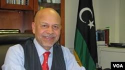 Libyan Ambassador to the U.S. Ali Suleiman Aujali at his Washington office, Feb 2013.