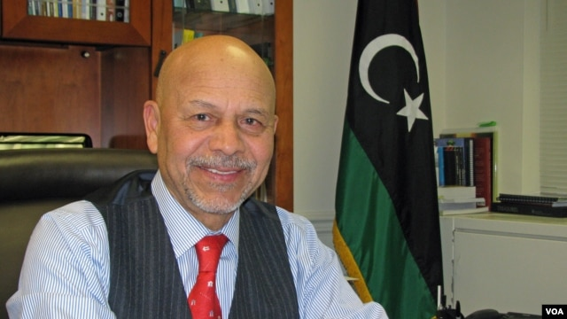 Libyan Ambassador to the U.S. Ali Suleiman Aujali at his Washington office, Feb 2013.