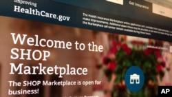 Portal de entrada a la bolsa de seguros de salud del gobierno.