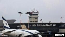 تل ابیب اور یروشلم کے نزدیک واقع بن گوریان ایئرپورٹ جو اسرائیل کا سب سے بڑا اور مصروف ترین ہوائی اڈہ ہے۔