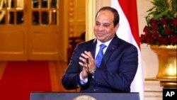 Tổng thống Ai Cập Abdel Fattah el-Sissi.