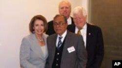 Speaker Abdul Hamid Receives Warm Reception in Washington DC