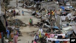 Typhoon Victims Struggle to Survive