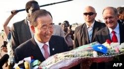 Tổng thư ký Ban Ki Moon nói rằng 2 miền nam bắc Sudan có chung một vận mệnh và cần phải xem nhau là đối tác chứ không phải là đối thủ