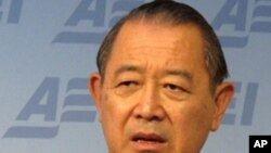 日本駐美大使藤崎一郎