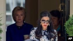 Msaidizi wa Clinton, Huma Abedin