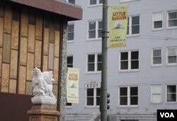 Khu Little Saigon San Francisco. (Ảnh: Bùi Văn Phú)