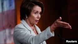 အေမရိကန္ေအာက္လႊတ္ေတာ္ ဒီမိုကရက္တစ္ေခါင္းေဆာင္ Nancy Pelosi