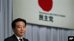 일본 민주당 대표로 선출된 노다 요시히코