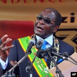 President Robert Mugabe addresses the nation in Harare (File)