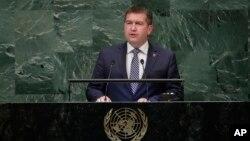 Исполняющий обязанности министра иностранных дел Чехии Ян Хамачек (архивное фото)