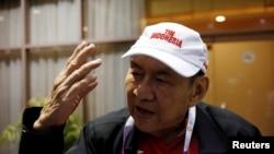 Michael Bambang Hartono menjadi atlet tertua yang berlaga di Asian Games 2018.