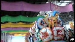 ວັນ Mardi Gras ທີ່ນະຄອນ New Orleans, ສະຫະລັດ. ວັນທີ 22 ກຸມພາ 2012.