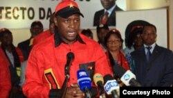 Norberto Garcia, secretário provincial do MPLA em Luanda para os Assuntos Políticos e Eleitorais (ANGOP)