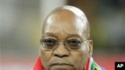 South Africa's President Jacob Zuma, in Johannesburg, South Africa (File Photo)
