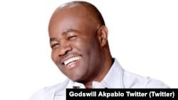 Nigerian Minister of Niger Delta, Godswill Akpabio