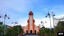 Nhà thờ Giáo xứ Cồn Dầu tại quận Cẩm Lệ, Đà Nẵng